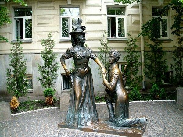 Памятник Свириду Голохвастову и Проне Прокоповне, Киев
